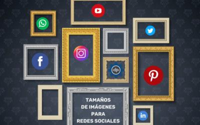 Guía de tamaños de imágenes para redes sociales